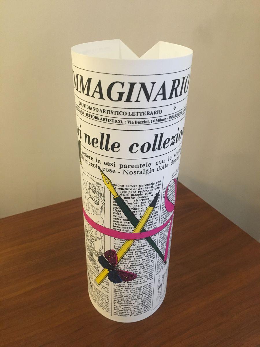 L´immaginario Tischlampe von Fornasetti für Antonangeli, 1990er