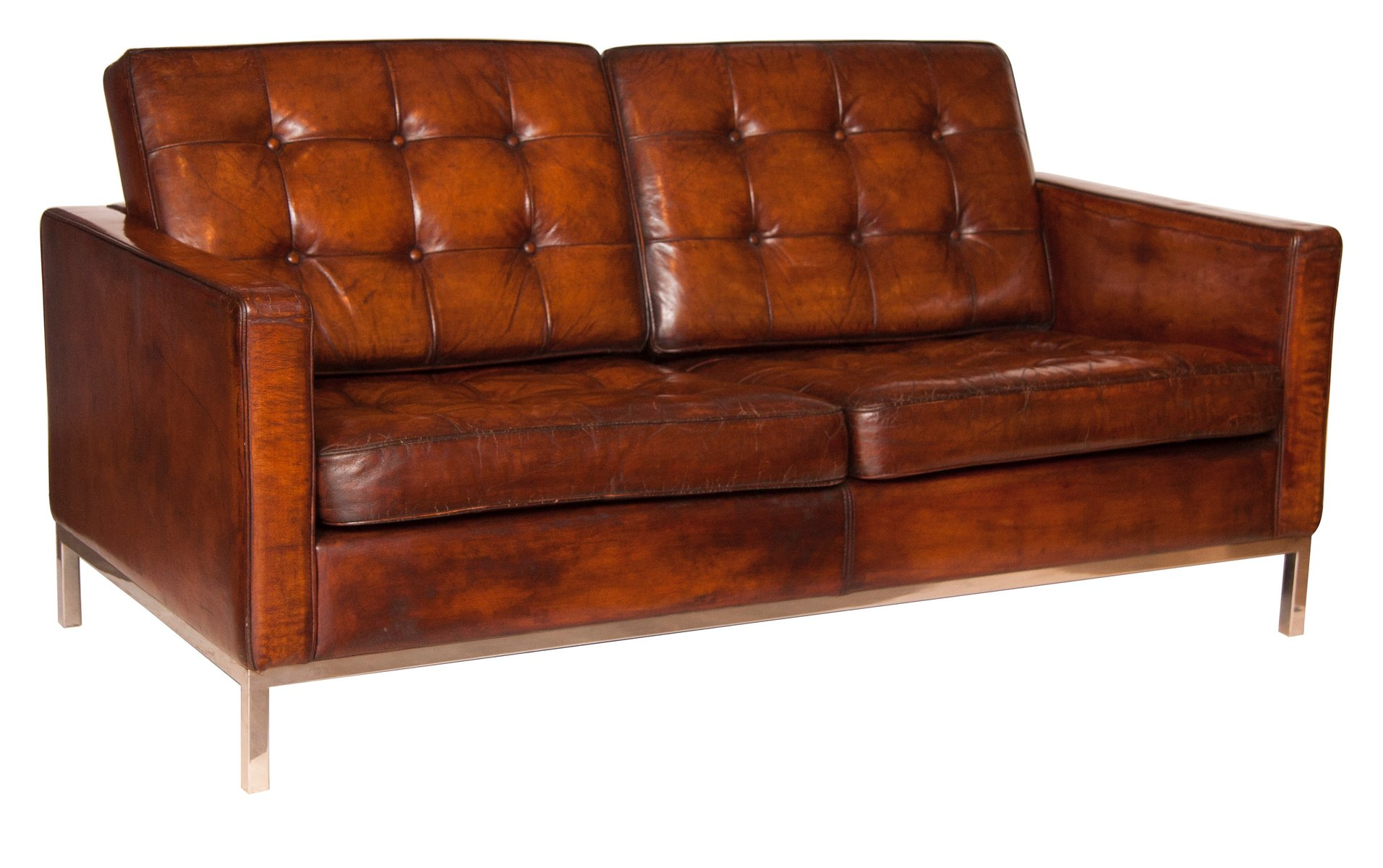 Mid century sofa by florence knoll bassett 1960s for sale at pamono - Florence knoll sofa gebraucht ...