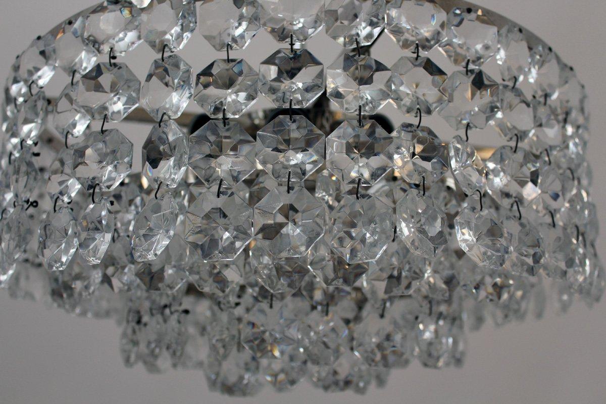 Kronleuchter Kristall 6 Flammig ~ Vintage kristall leuchter von bakalowits bei pamono kaufen