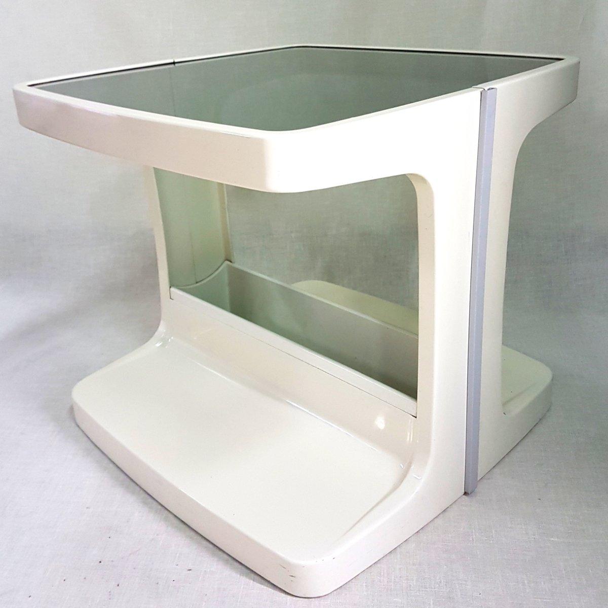vintage space age beistell bartisch bei pamono kaufen. Black Bedroom Furniture Sets. Home Design Ideas