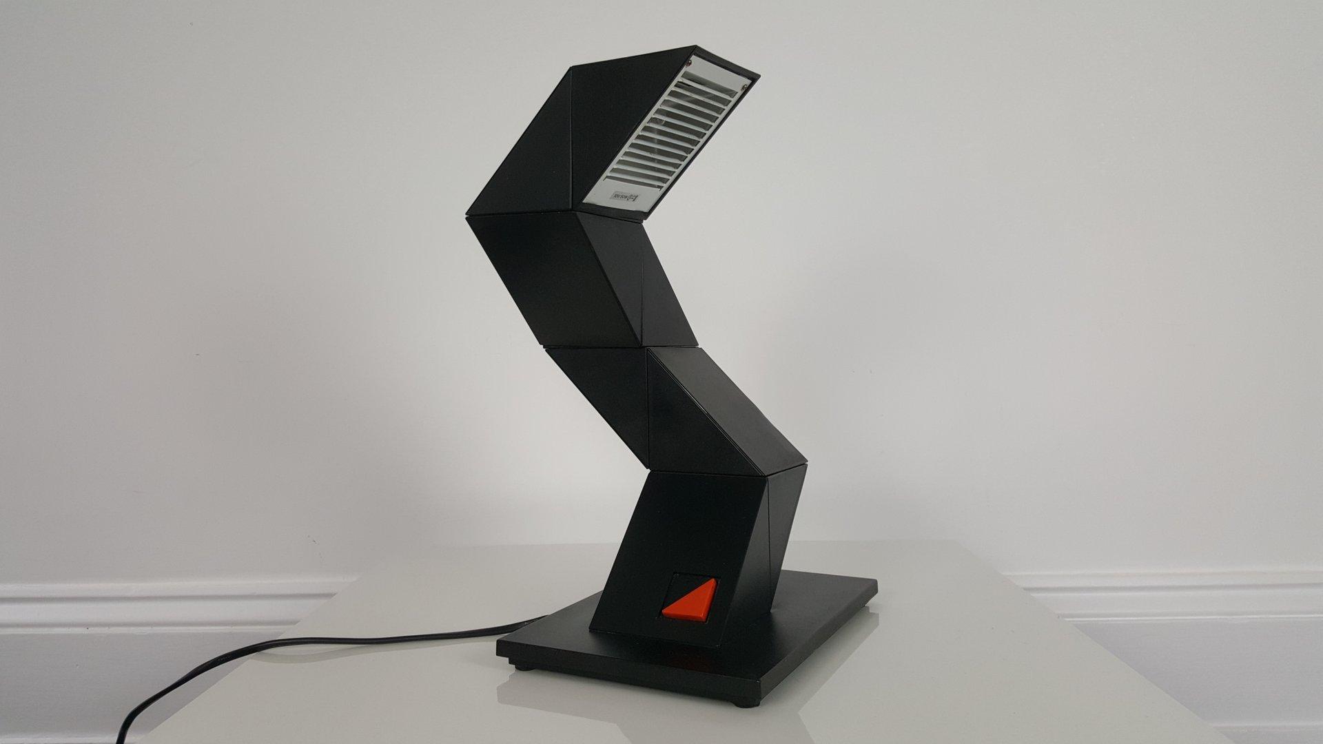 Modulare Zig Zag Halogen Tischlampe von E-lite, 1980