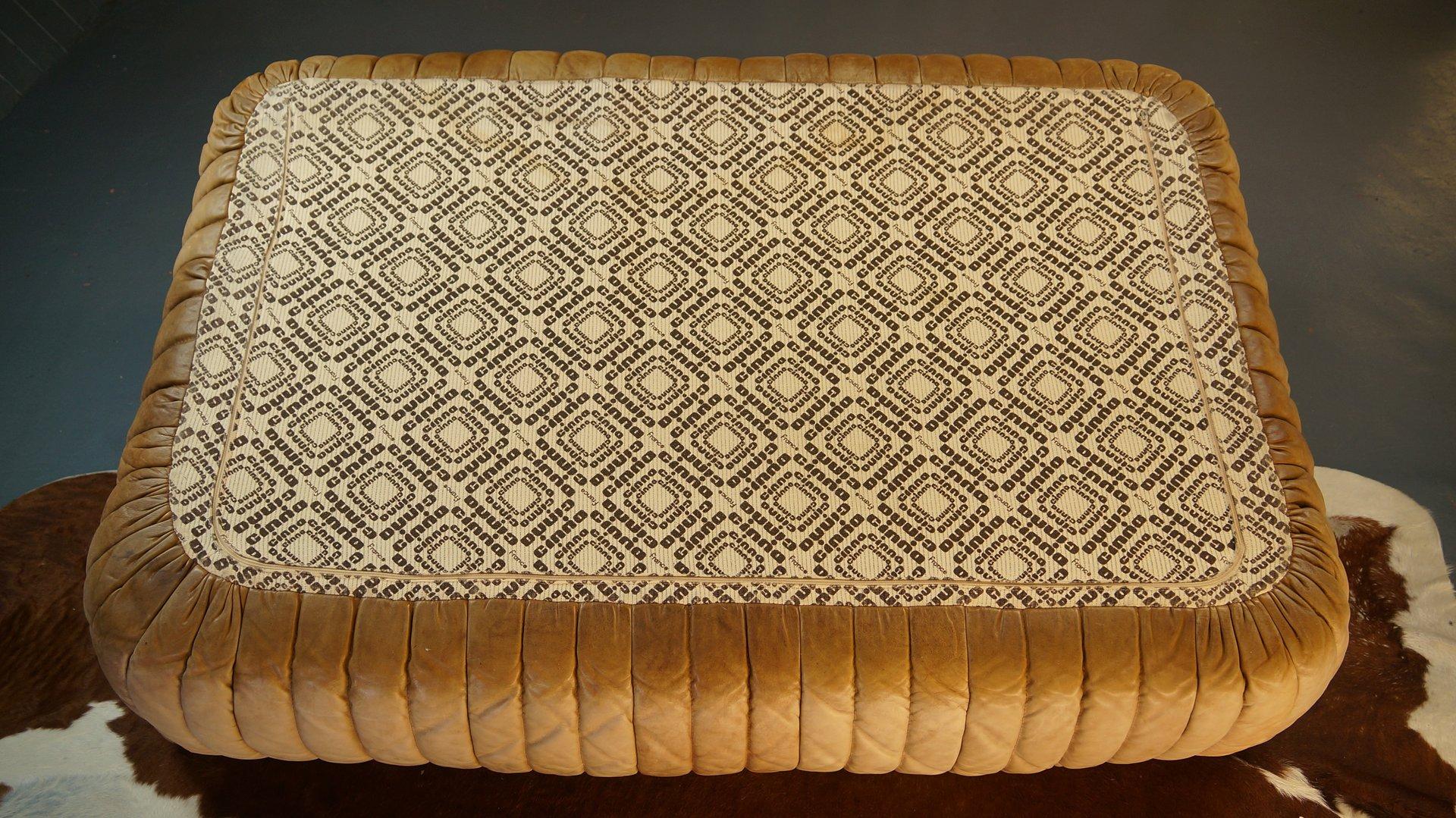 braunes 2 sitzer sandra ledersofa von annie hieronimus f r cinna 1977 bei pamono kaufen. Black Bedroom Furniture Sets. Home Design Ideas