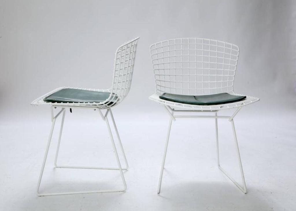 Wire Chairs By Harry Bertoia For Knoll, 1960s, Set Of 4