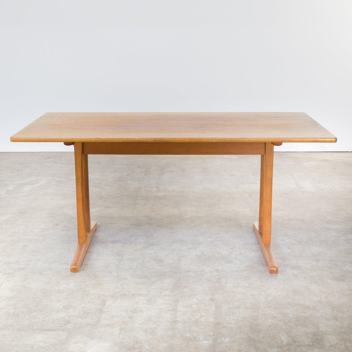 C18 Shaker Tisch von Børge Mogensen für FDB Møbler, 1960er