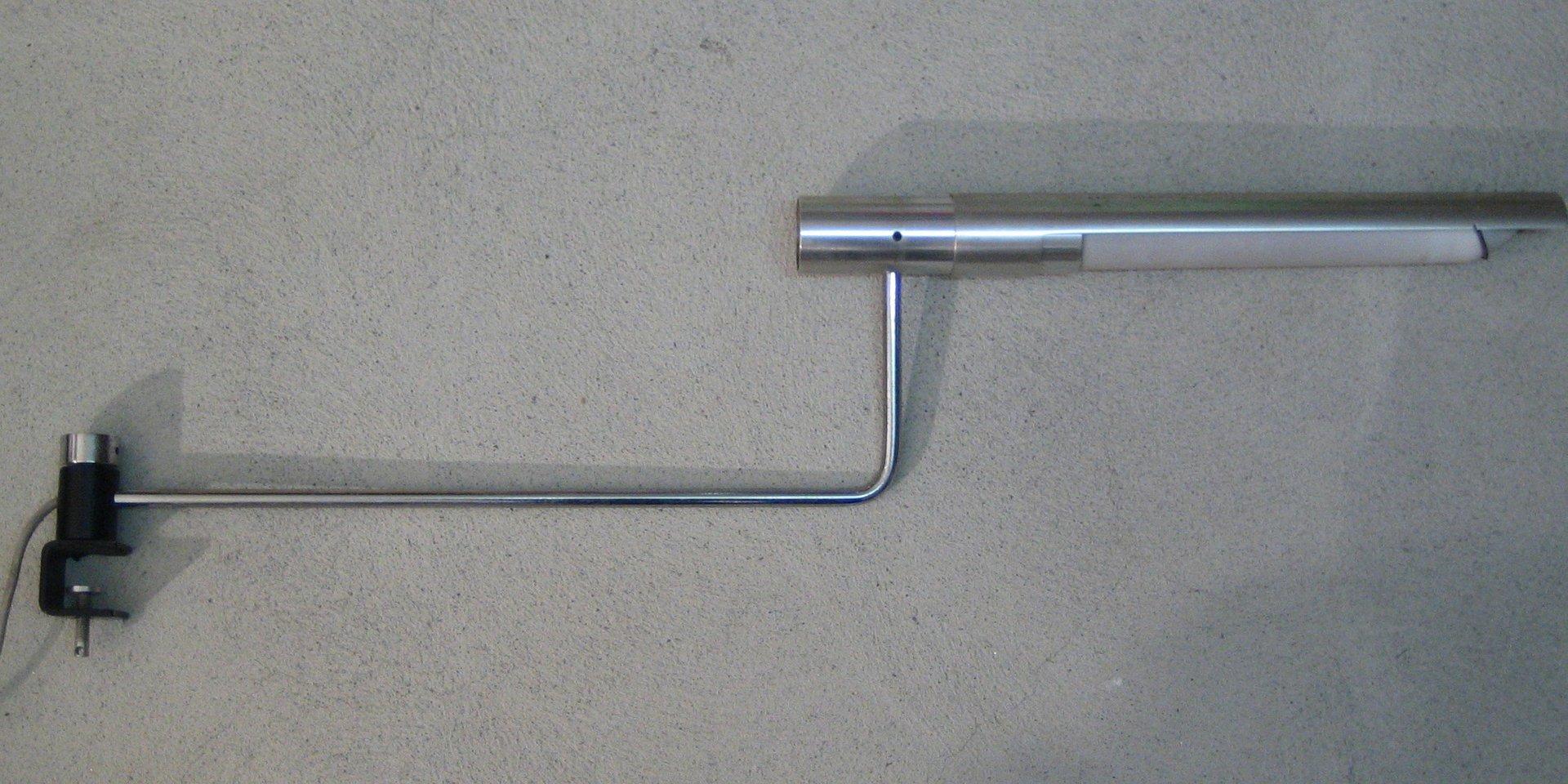Aluminium 467 Tischlampe von Rico & Rosmarie Baltensweiler für Knoll I...