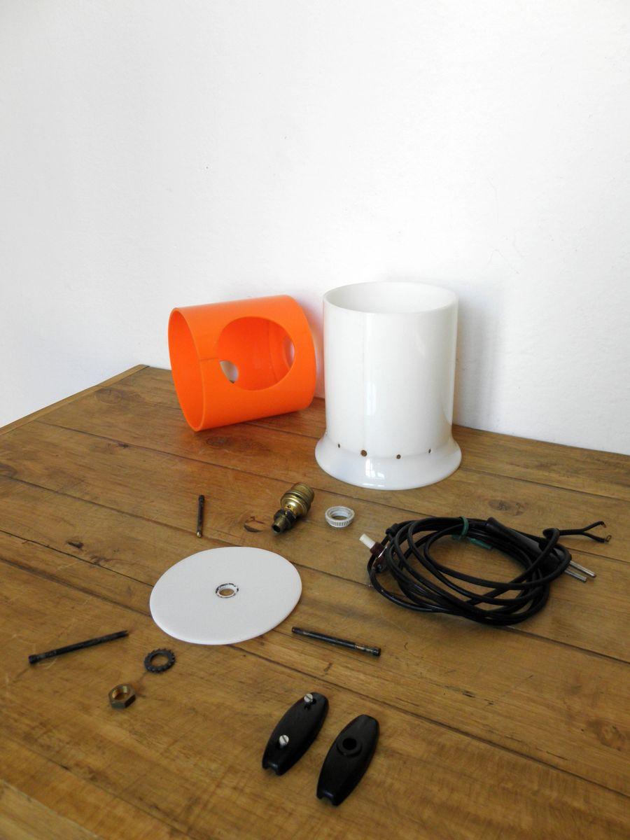 space age kd8 lampe von joe colombo f r kartell bei pamono kaufen. Black Bedroom Furniture Sets. Home Design Ideas