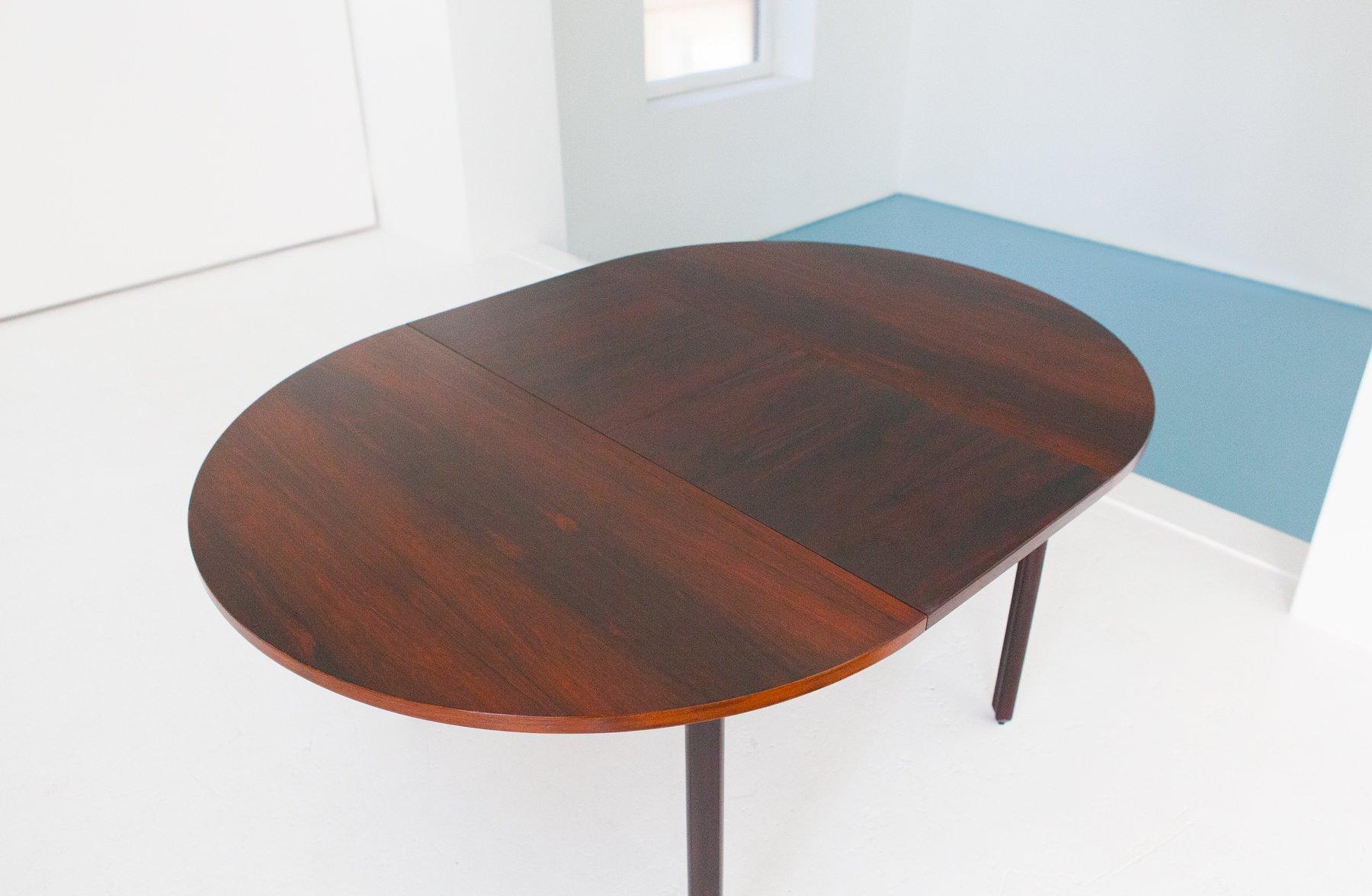 Tavolo da pranzo con 4 sedie in palissandro di stildomus for Tavolo da pranzo con sedie