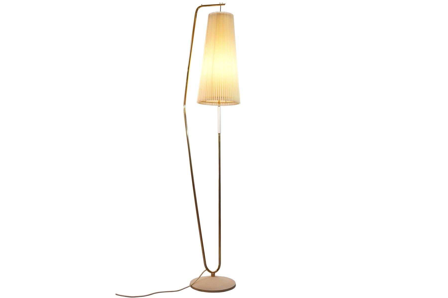 Genial Stehlampe Mit Schirm Sammlung Von In Creme, 1950er