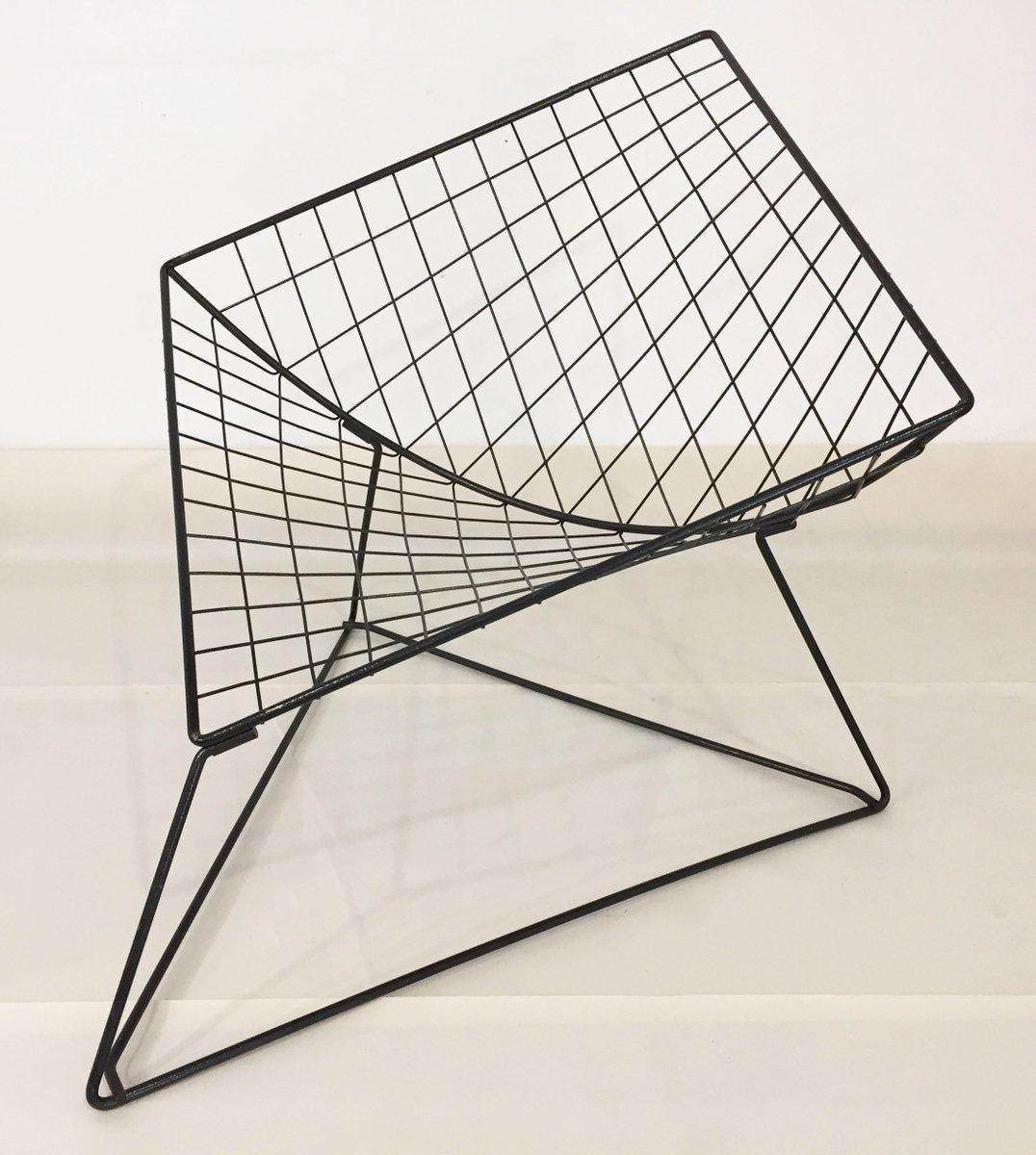 modell oti drahtgeflecht st hle von j rgen gammelgaard f r ikea 1986 bei pamono kaufen. Black Bedroom Furniture Sets. Home Design Ideas