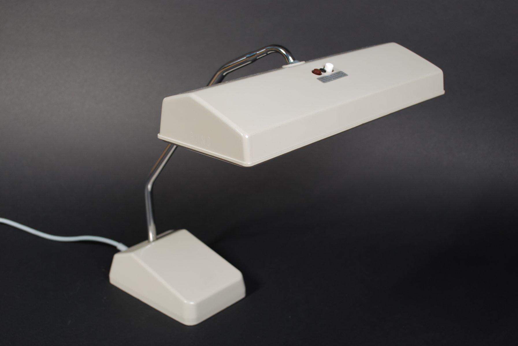 Deutsche BW Bund Schreibtischlampe von Waldmann, 1960er