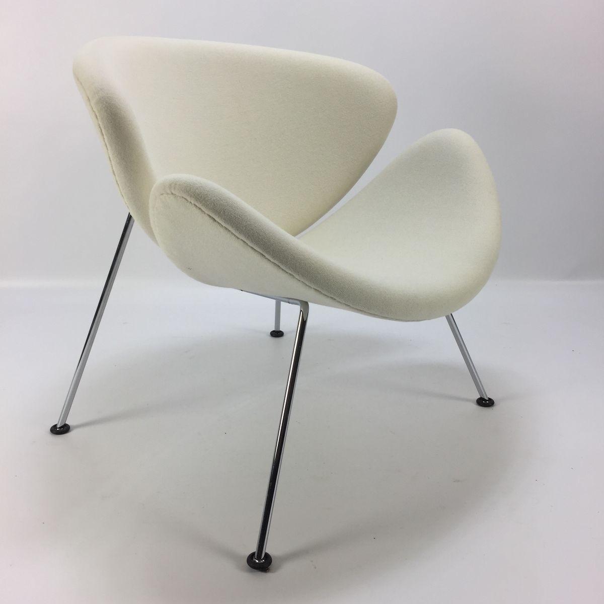 fauteuil slice orange vintage par pierre paulin pour artifort en vente sur pamono. Black Bedroom Furniture Sets. Home Design Ideas