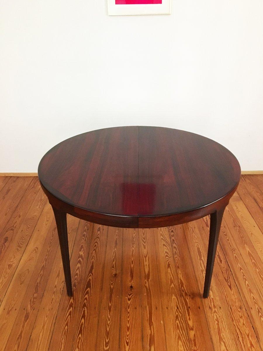 runder d nischer mid century esstisch aus palisander von ib kofod larsen f r faarup m belfabrik. Black Bedroom Furniture Sets. Home Design Ideas