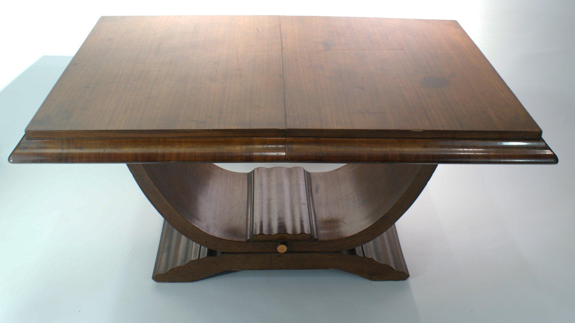 Table de salle manger art d co 1940s en vente sur pamono - Deco sur table salle a manger ...