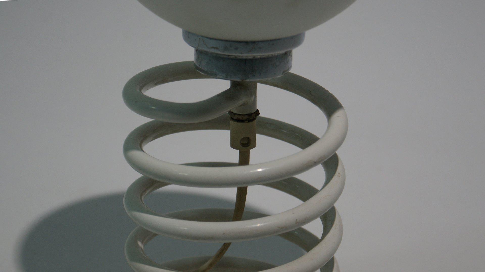 lampe de bureau spirale vintage par ingo maurer pour design m en vente sur pamono. Black Bedroom Furniture Sets. Home Design Ideas