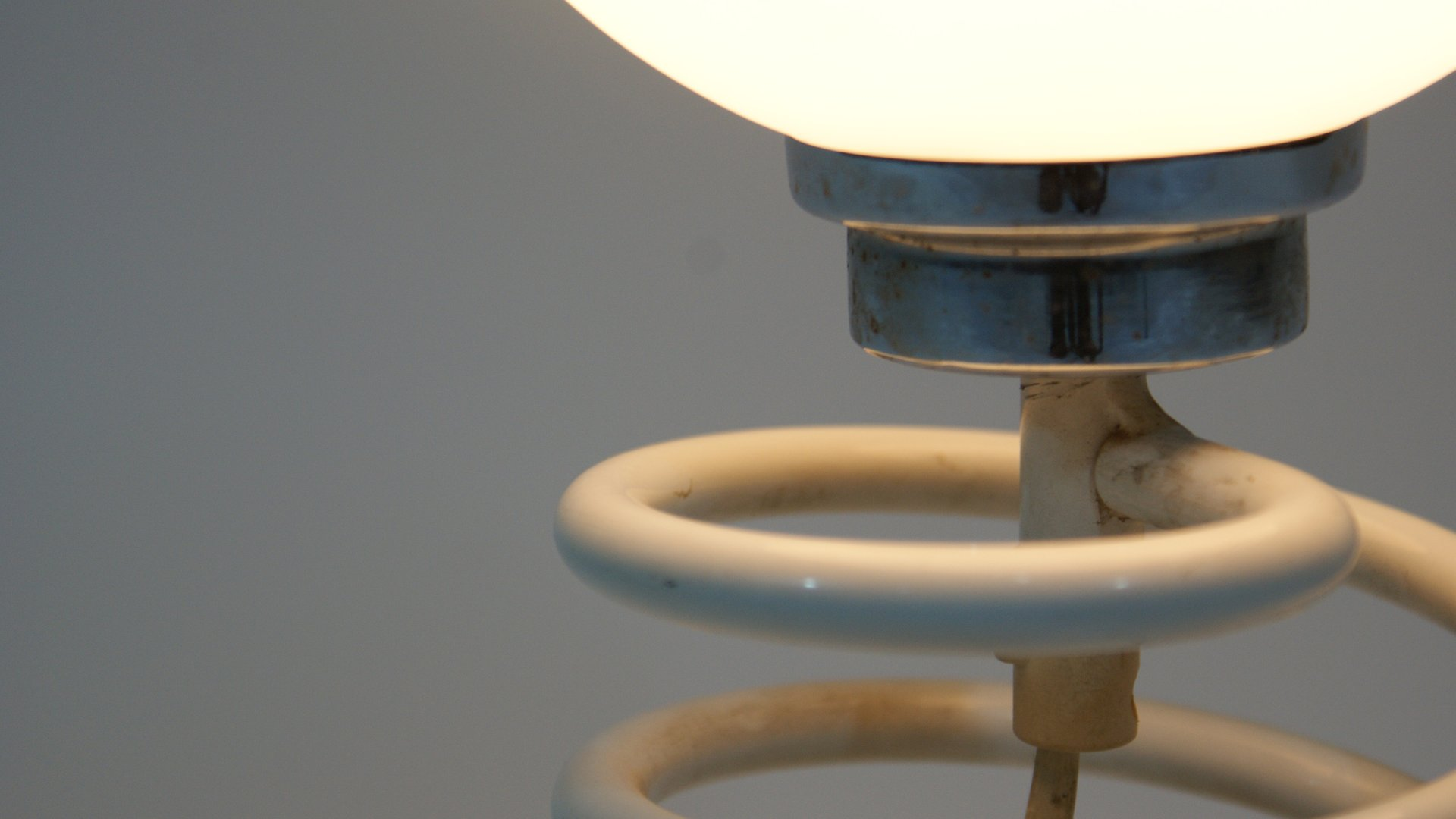 Lampe de bureau spirale vintage par ingo maurer pour design m en vente sur pamono - Lampe de bureau style anglais ...