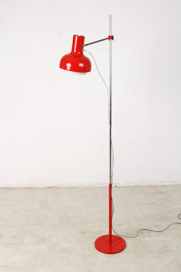 Rote Stehlampe, 1970er
