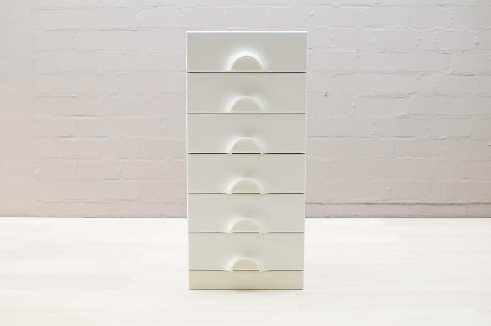 Kommode Modell Quadro von Jürgen Lange für Schönbuch, 1970er