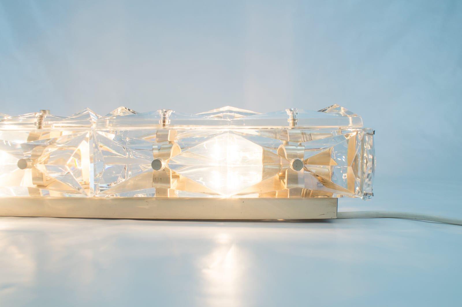 Lampade da parete tubolari in cristallo di kinkeldey anni 39 60 set di 2 in vendita su pamono - Lampade da parete di design ...