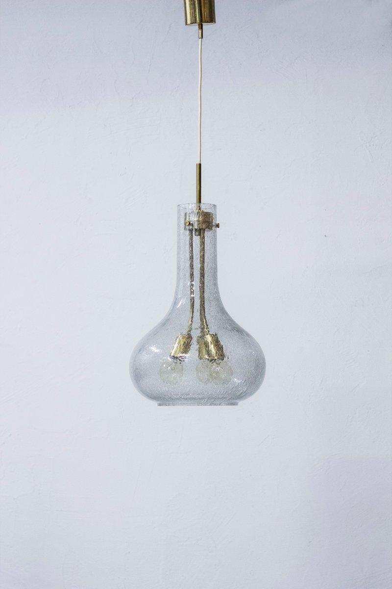 Deckenlampe von Jonas HIdle für Høvik Lys, 1960er