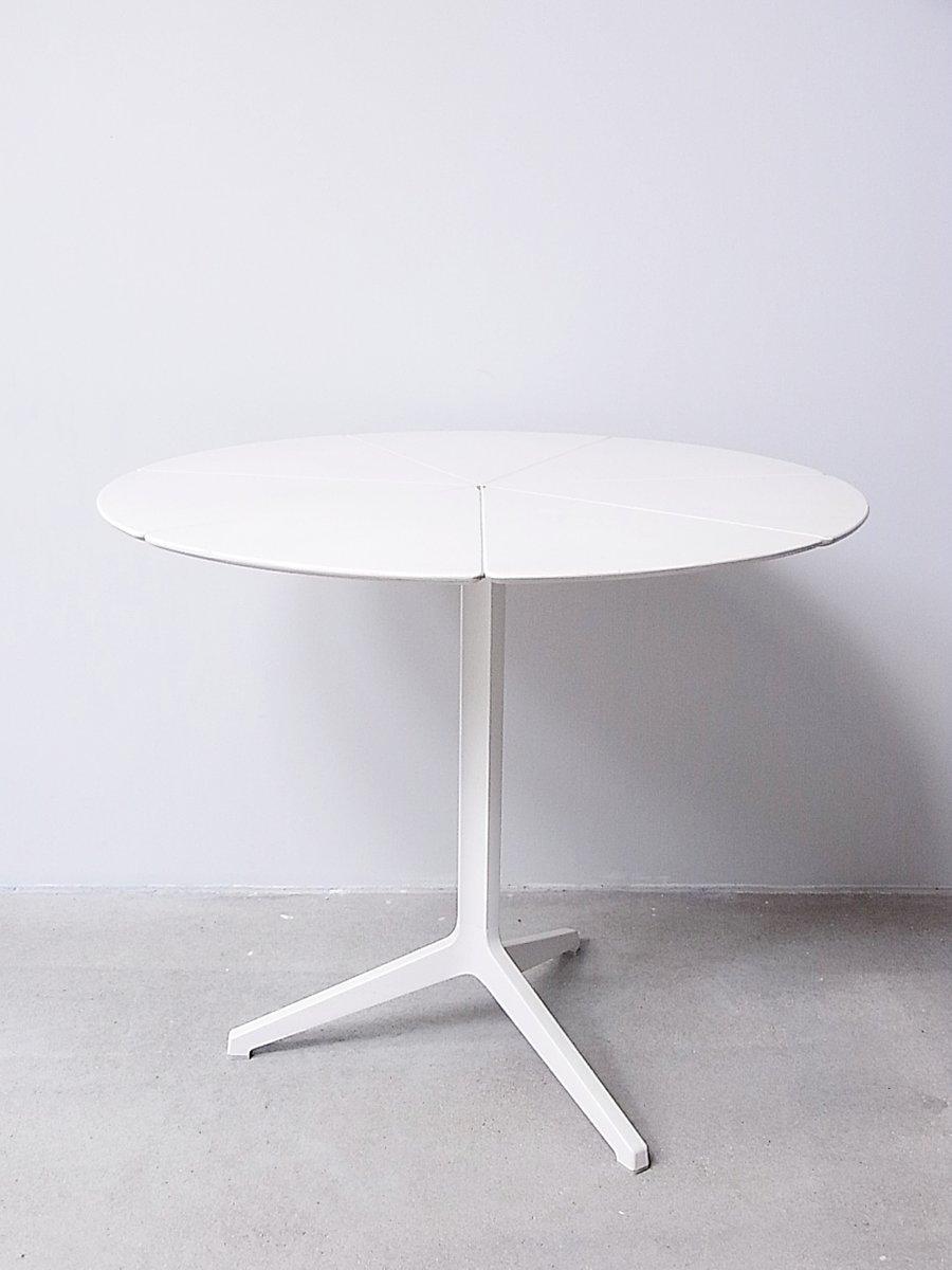 Weiß Lackierter Esstisch, 1960er