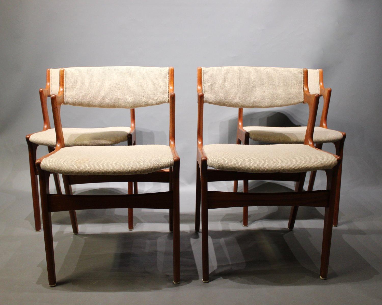 esszimmerst hle von nova 1960er 4er set bei pamono kaufen. Black Bedroom Furniture Sets. Home Design Ideas