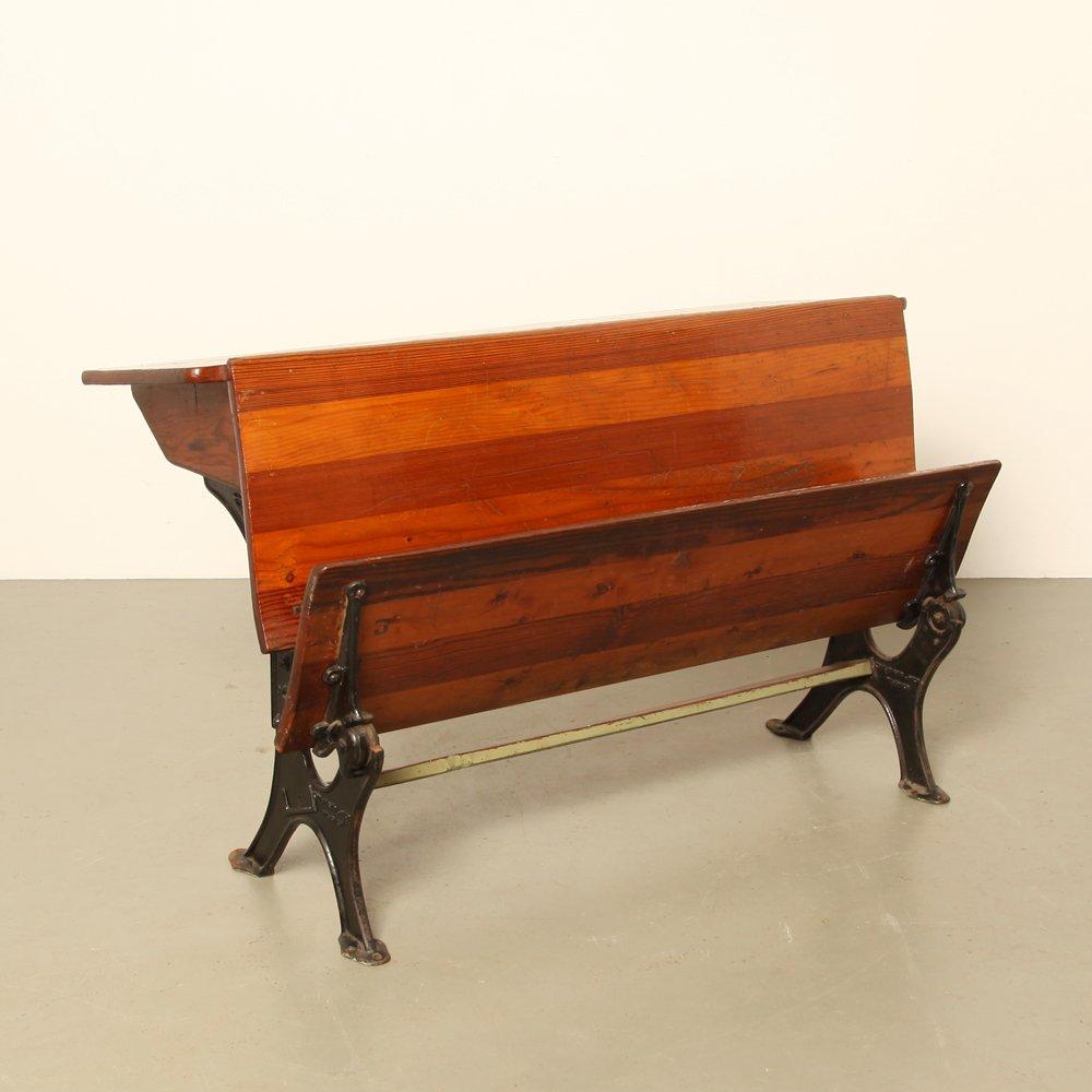 school desk for kooijmans 1920s for sale at pamono. Black Bedroom Furniture Sets. Home Design Ideas