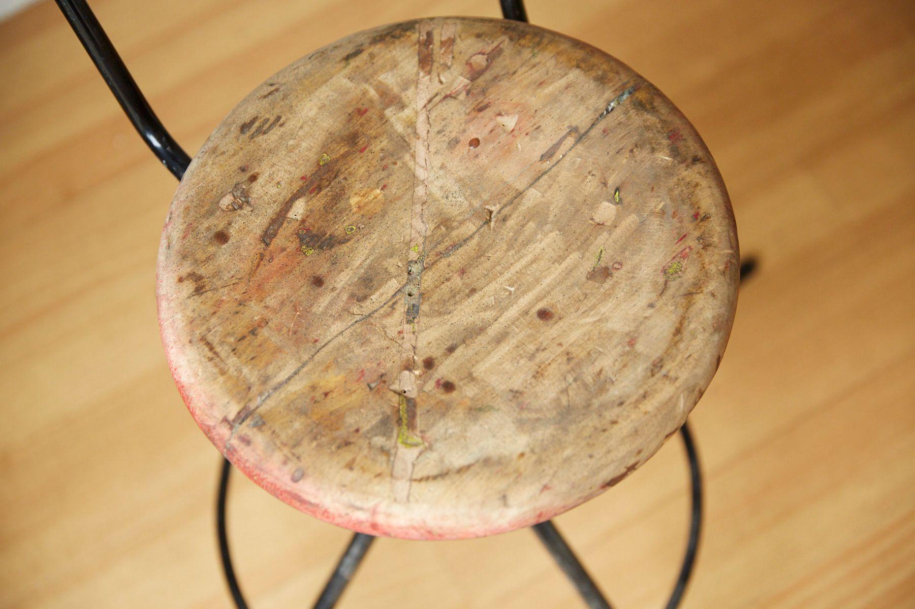 Sgabello da macchinista anni in vendita su pamono