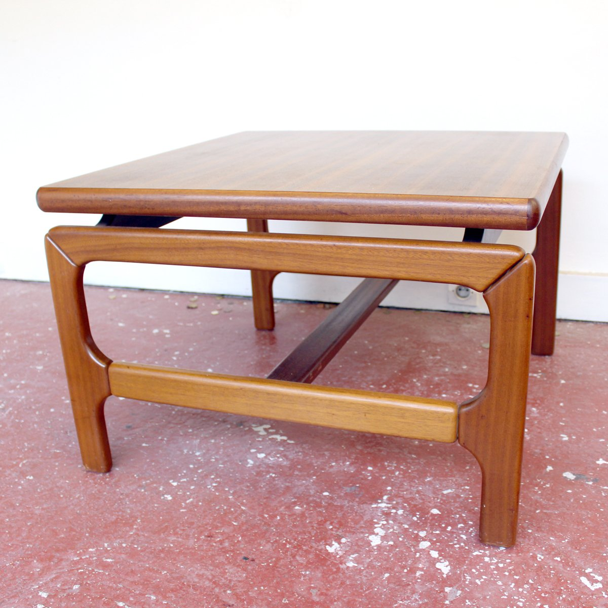 Mid-Century Teak Coffee Table For Sale At Pamono