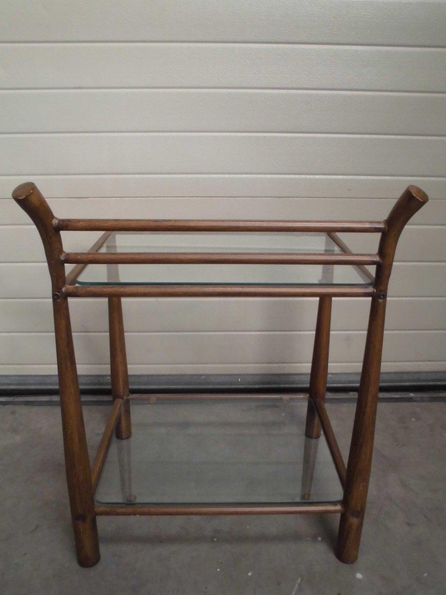 Ansprechend Beistelltisch Metall Glas Galerie Von Aus & Glas, 1970er 8. 220,00 €