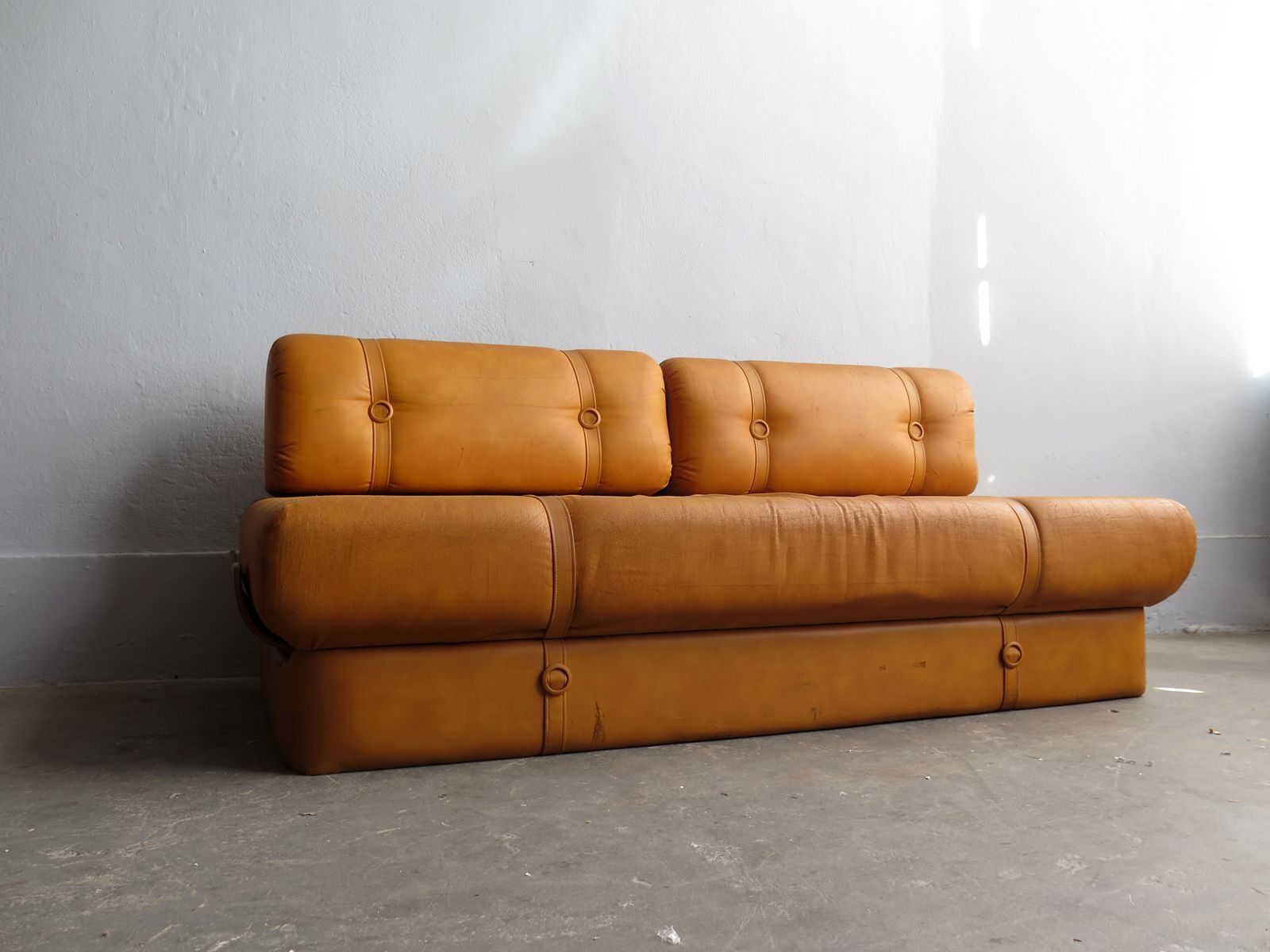 Vintage Faux Leather Sofa Bed 6. $1,842.00. Price Per Piece
