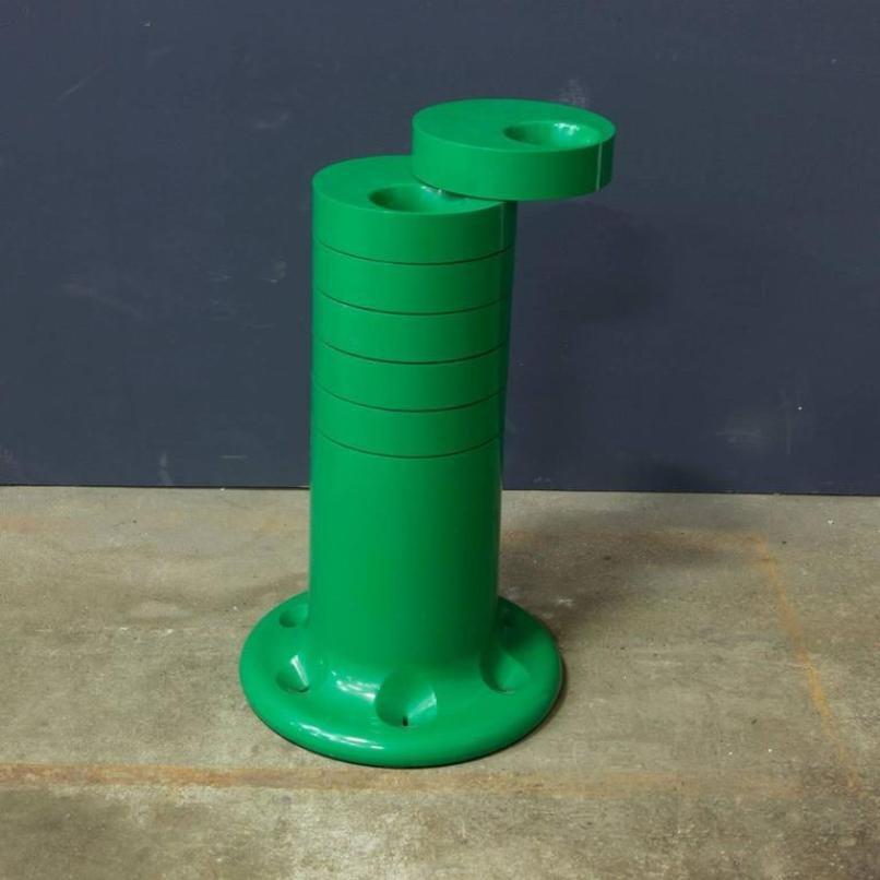 Umbrella Stand Argos Ireland: Green Pluvium Umbrella Stand By G.C. Piretti For Anonima