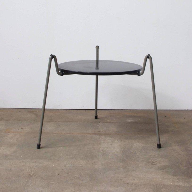 Mug Couchtisch aus Stahl von Wim Rietveld für Gispen Holland