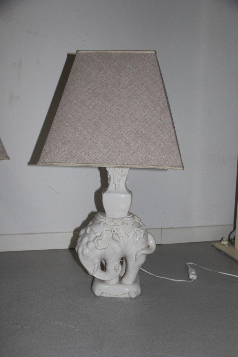 Elefanten Tischlampe, 1950er