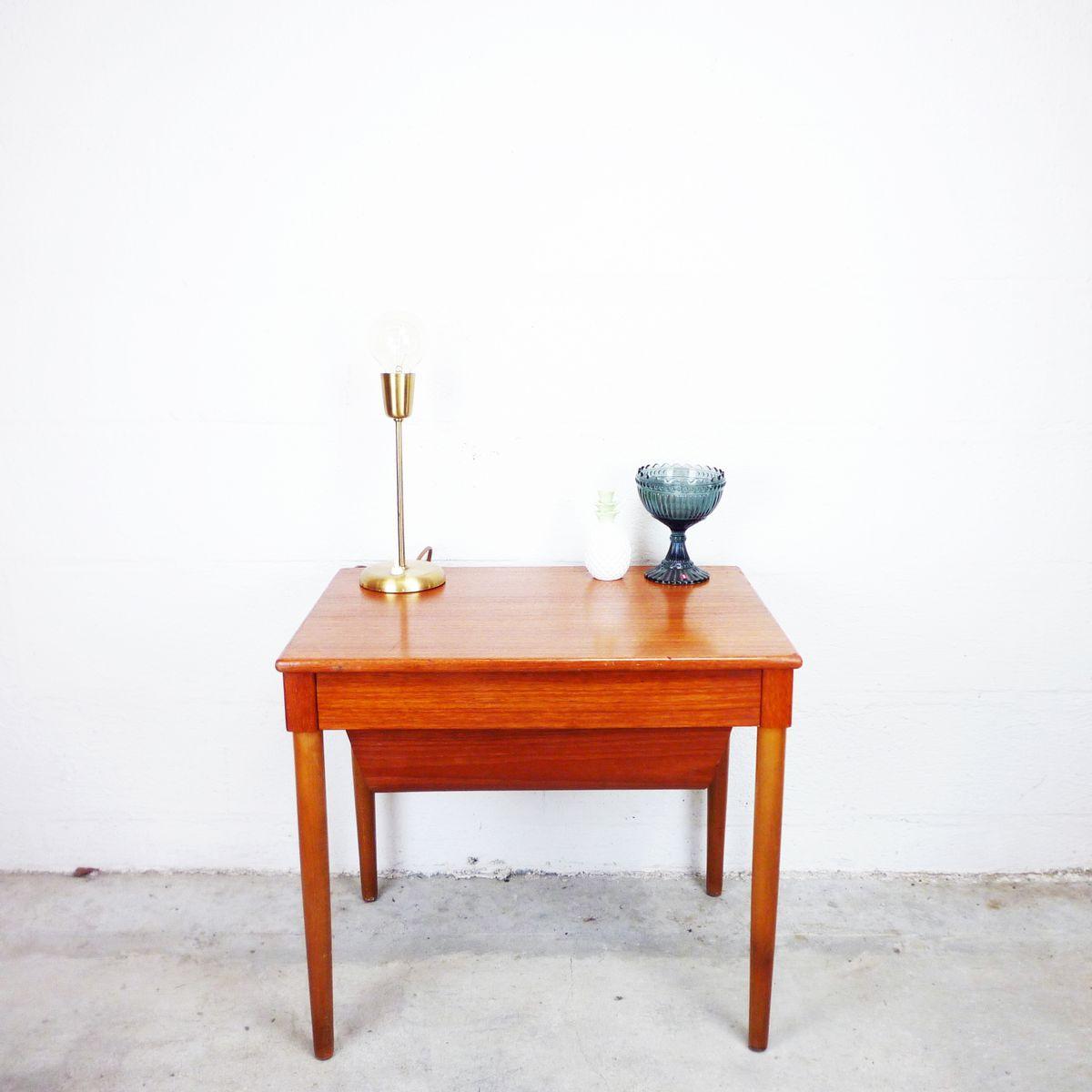 table de travail 1960s en vente sur pamono. Black Bedroom Furniture Sets. Home Design Ideas