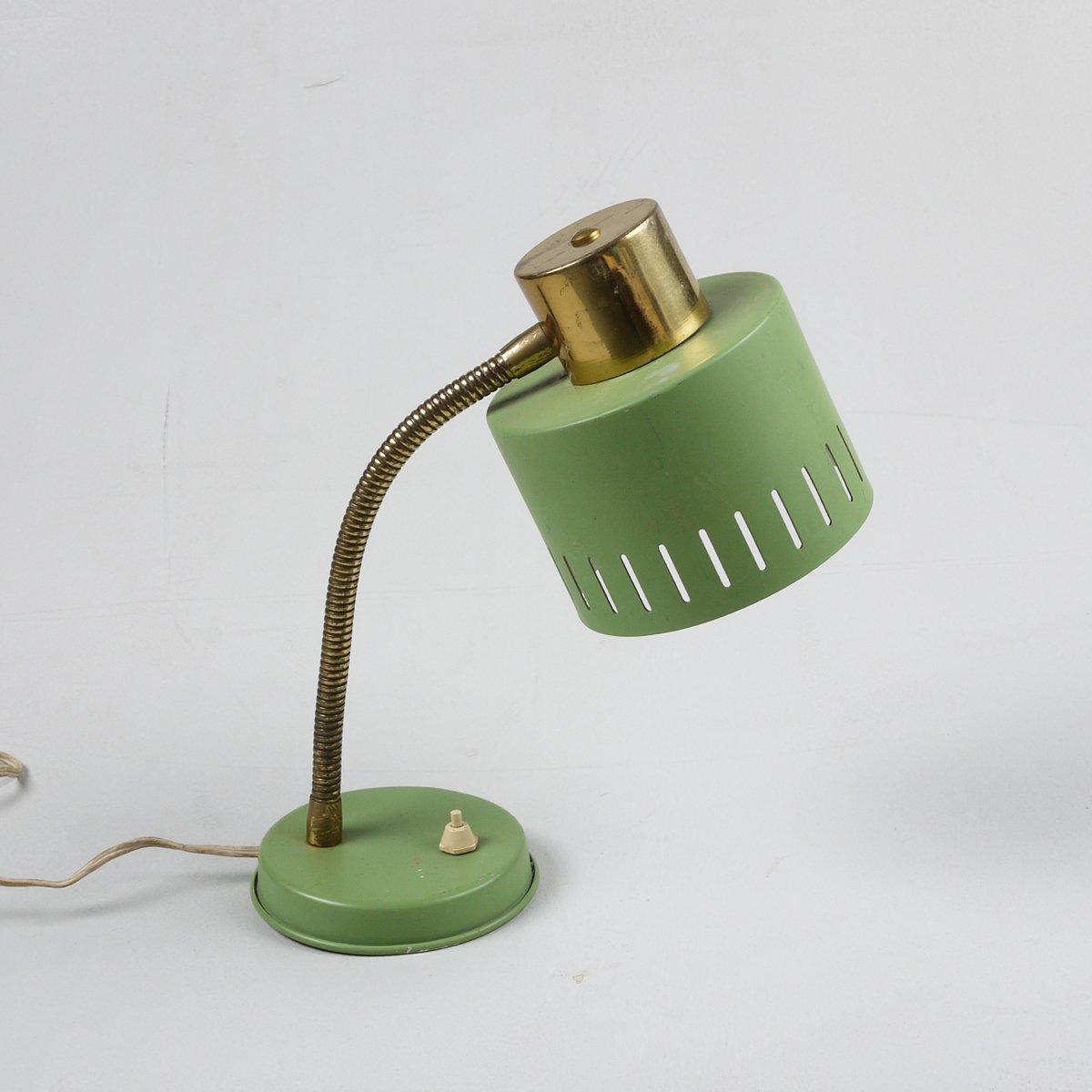 lampe de bureau pistachio vintage en vente sur pamono. Black Bedroom Furniture Sets. Home Design Ideas