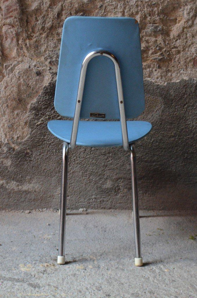 Vintage kinderstuhl aus chrom skai bei pamono kaufen - Kinderstuhl vintage ...