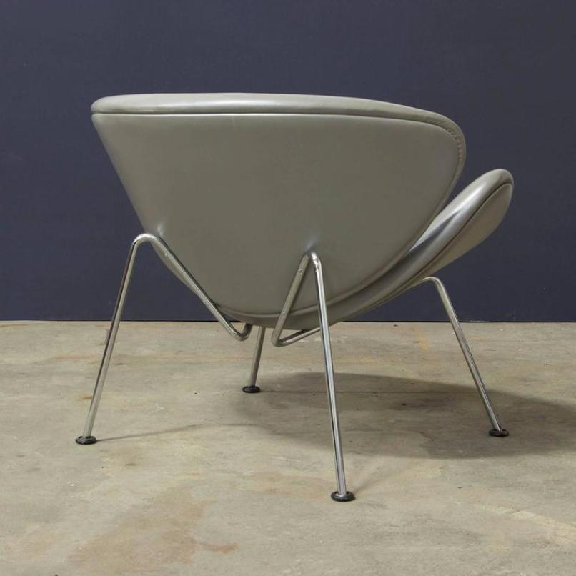 chaise slice par pierre paulin pour artifort 1960s en vente sur pamono. Black Bedroom Furniture Sets. Home Design Ideas