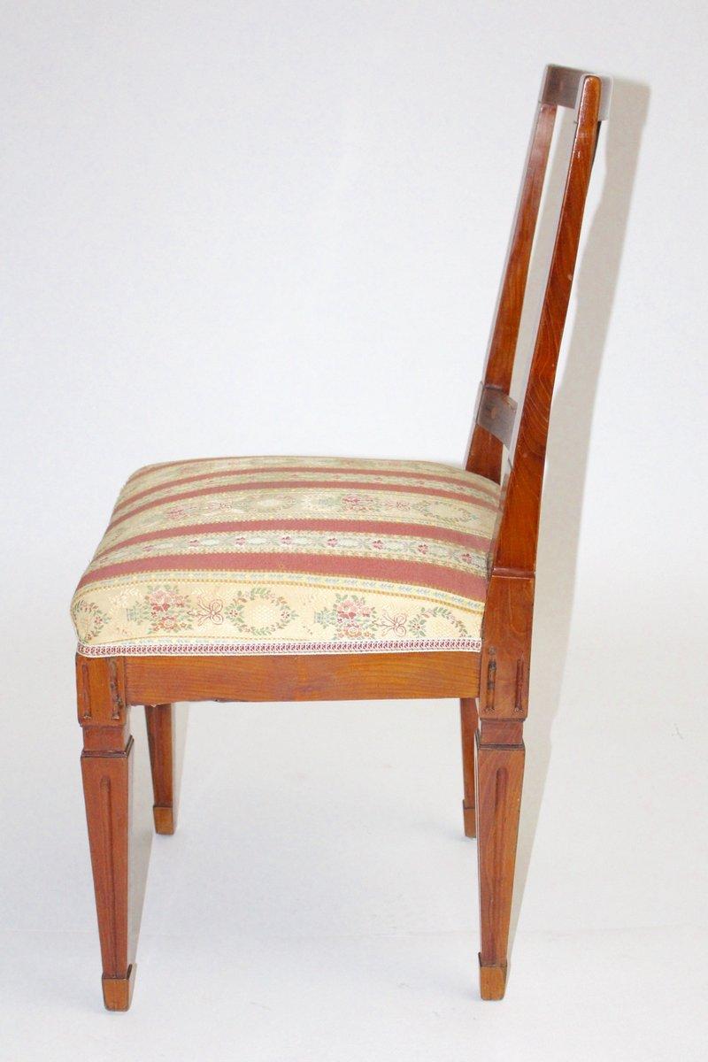 chaise d 39 appoint antique vers 1790 en vente sur pamono. Black Bedroom Furniture Sets. Home Design Ideas