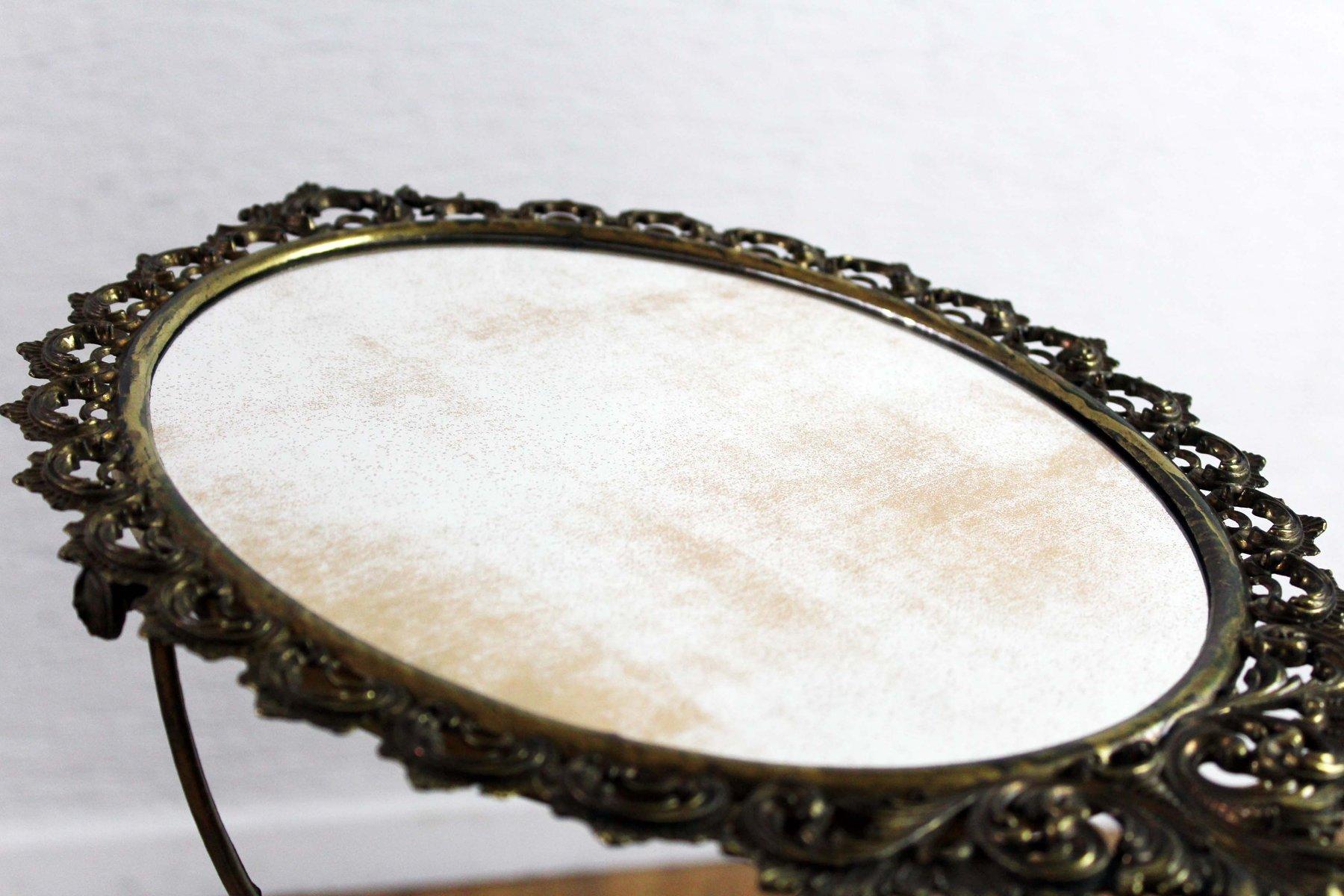 Spiegel mit metallrahmen 1930er bei pamono kaufen - Spiegel mit metallrahmen ...