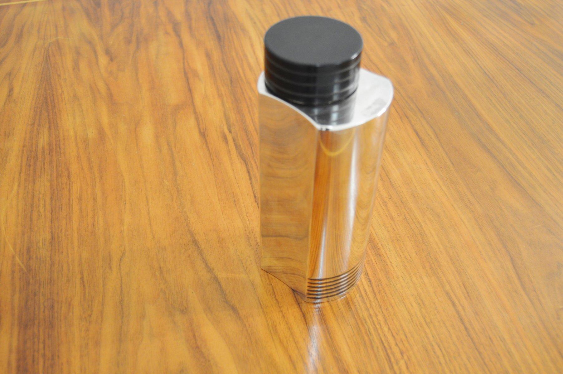 versilberter art deco cocktail shaker von folke arstr m f r gab 1935 bei pamono kaufen. Black Bedroom Furniture Sets. Home Design Ideas