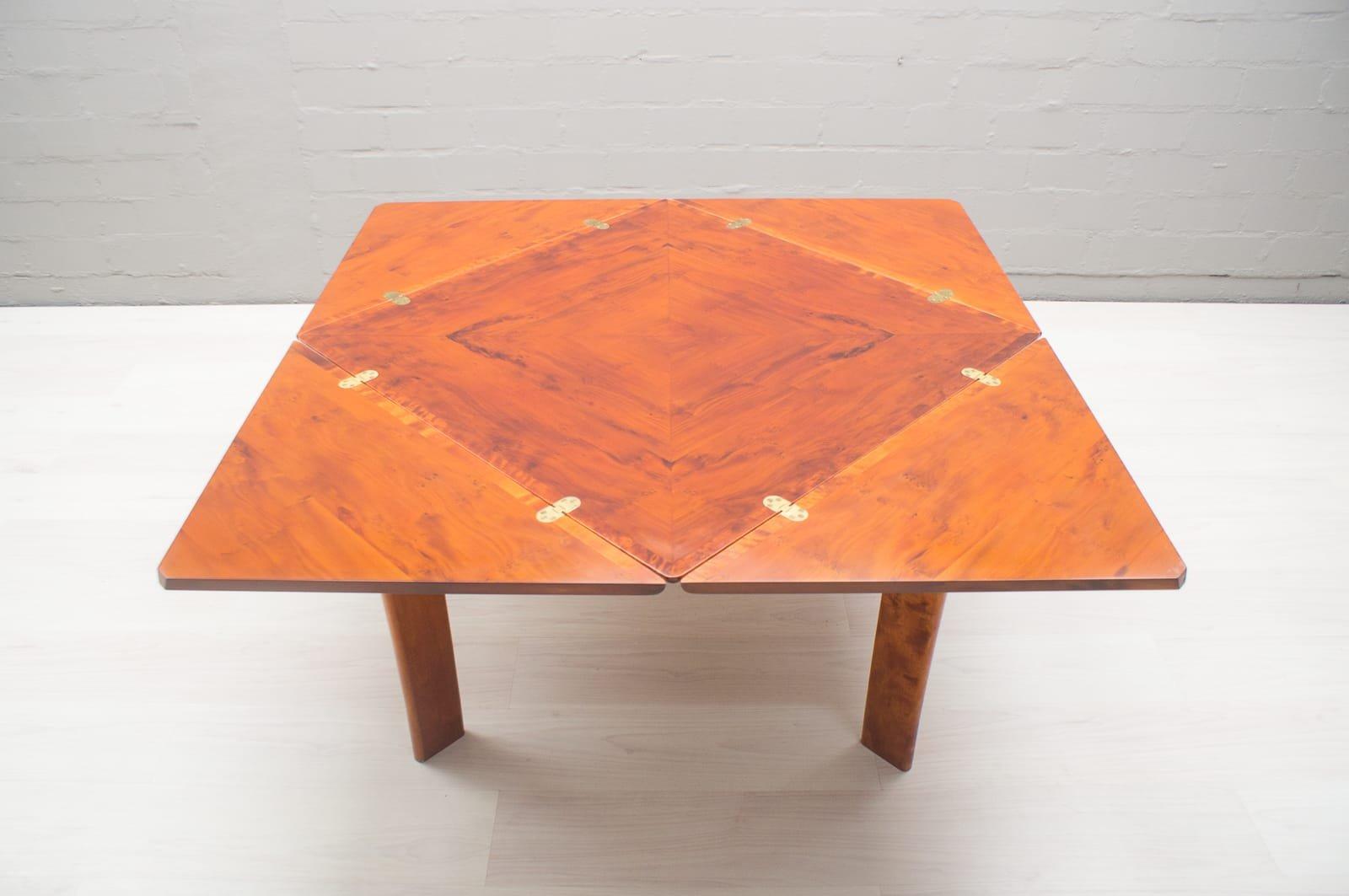 Vintage Spieltisch aus Holz, 1970er