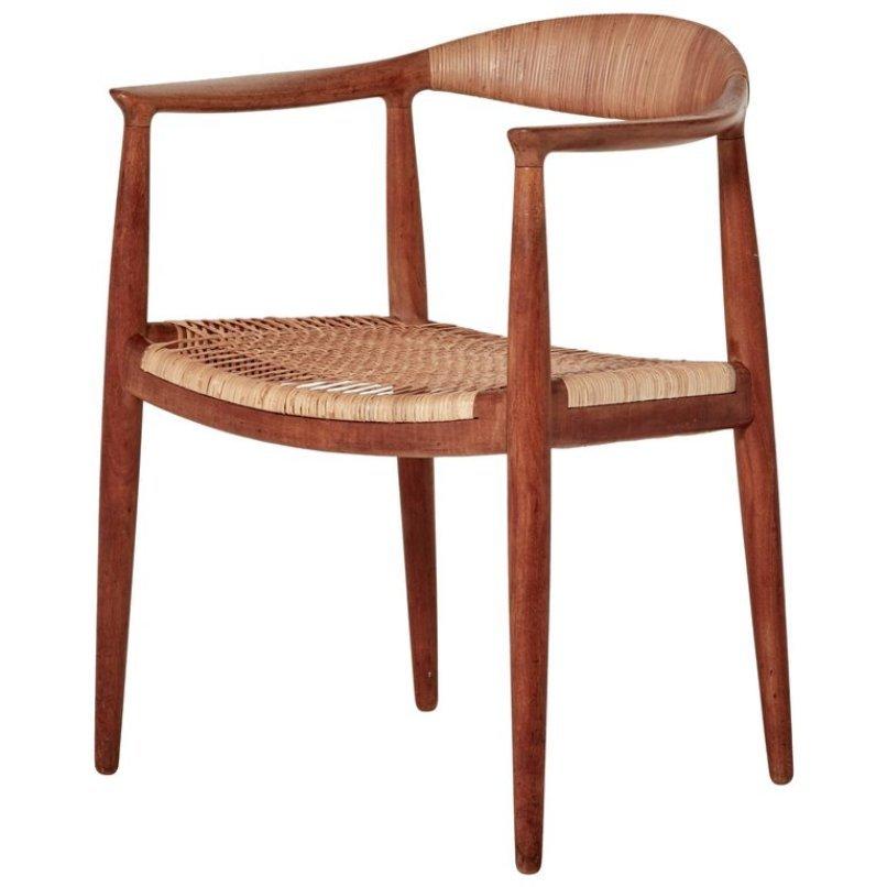Mid-Century The Chair Modell JH501 von Hans Wegner für Johannes Hansen