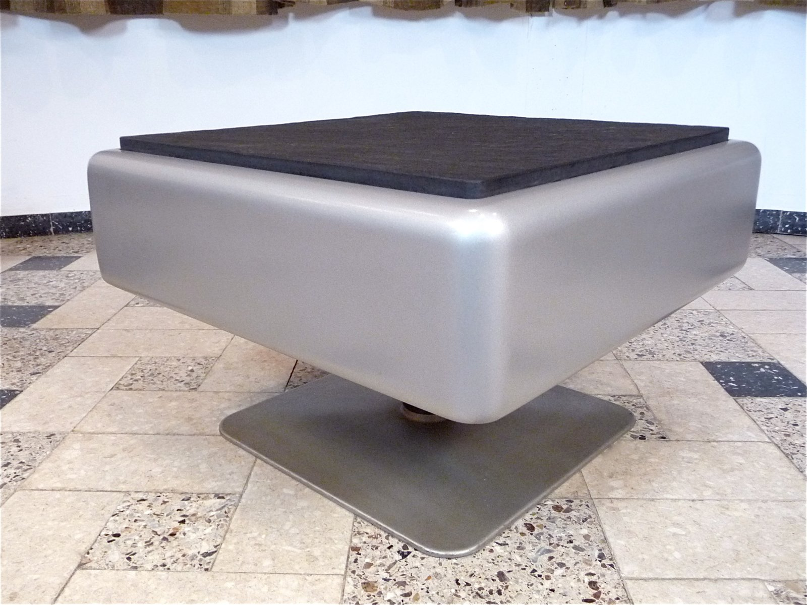 System 350 Lounge Chairs Amp Side Table By Herbert Hirche