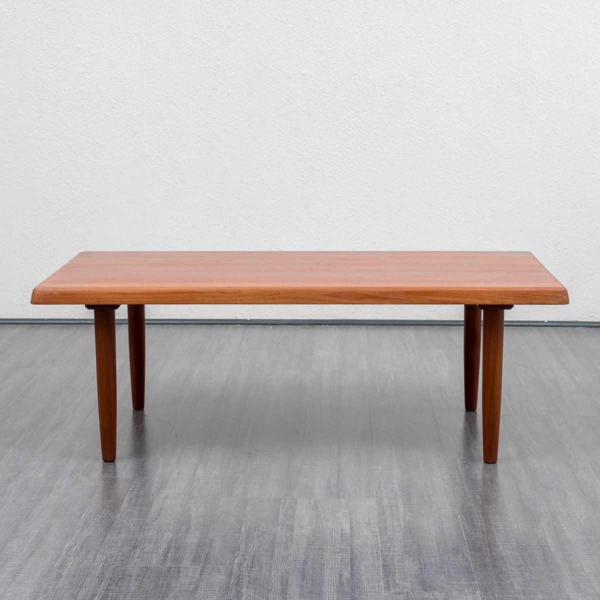 Teak Burger Coffee Table: Teak Coffee Table, 1970s For Sale At Pamono