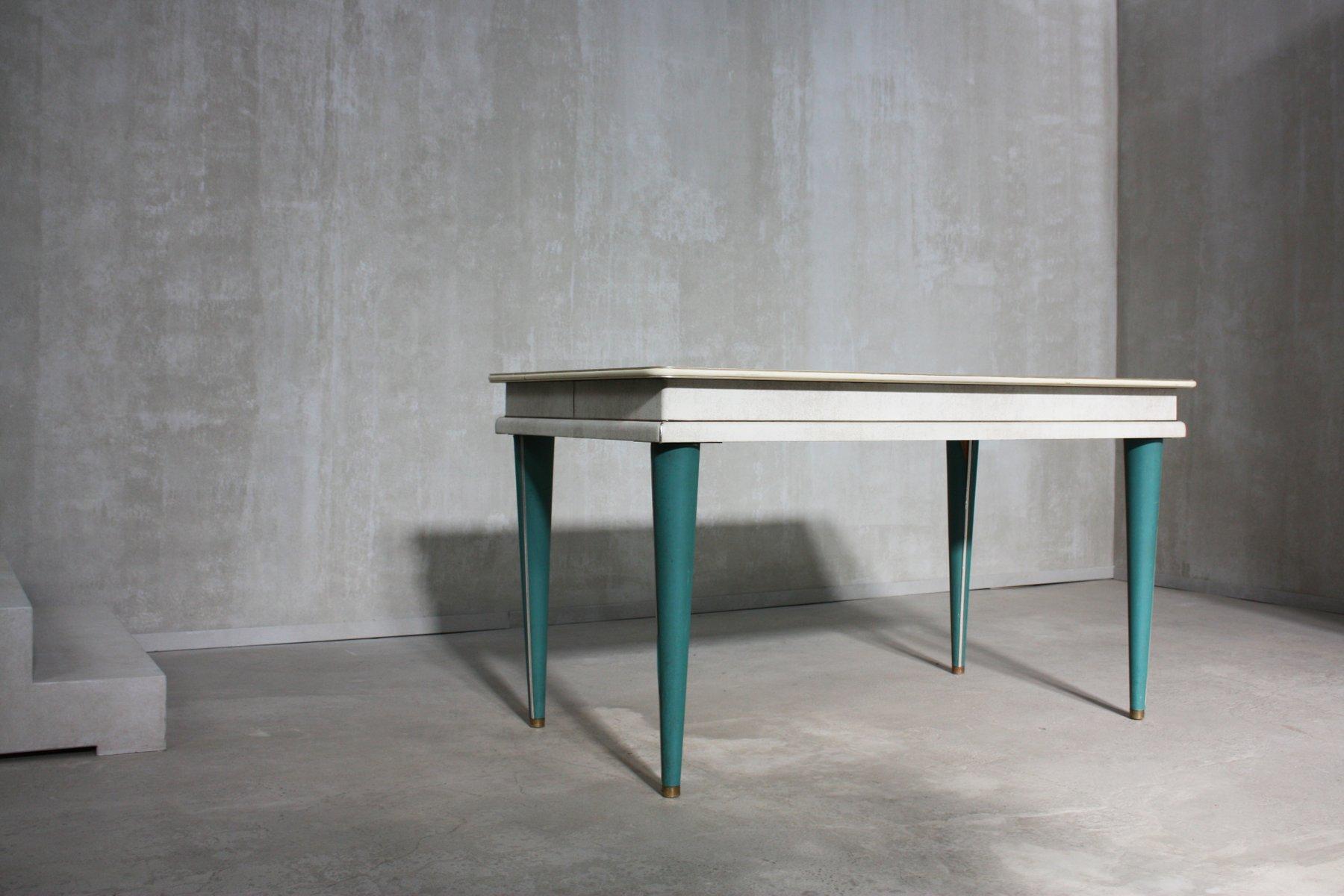table de salle 224 manger midcentury peinte 224 la main par