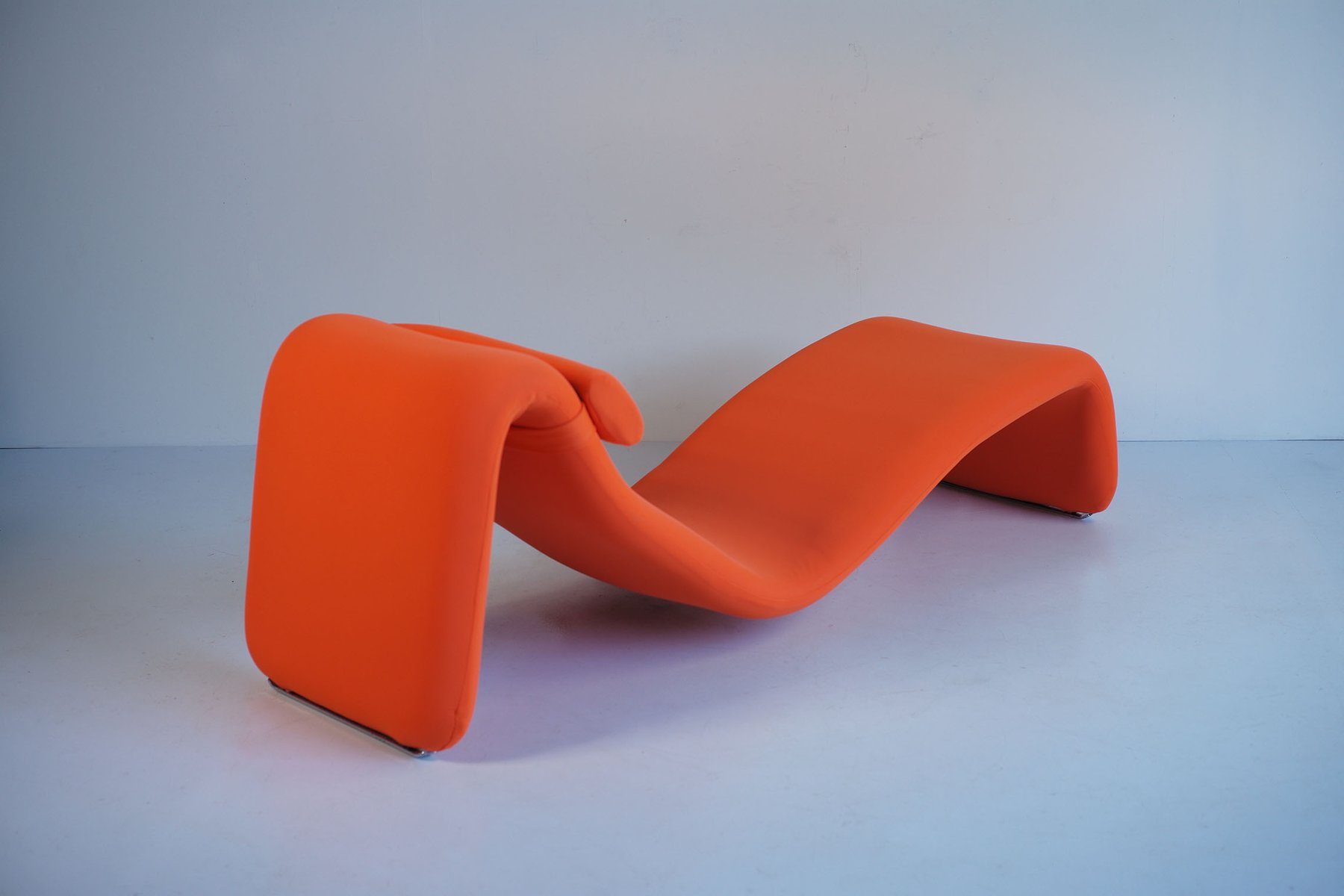 French 8412 Djinn Lounge Chair By Olivier Mourgue For Airborne, 1960s