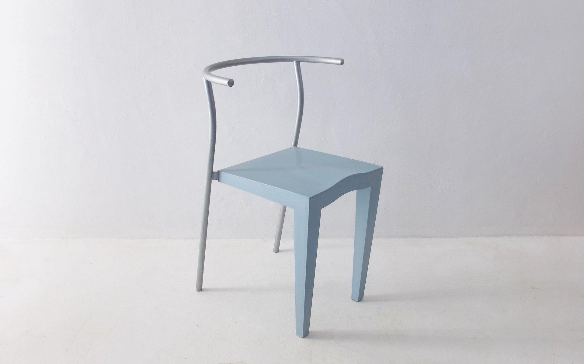 chaises vintage par philippe starck pour kartell france 1980s set de 8 en vente sur pamono. Black Bedroom Furniture Sets. Home Design Ideas