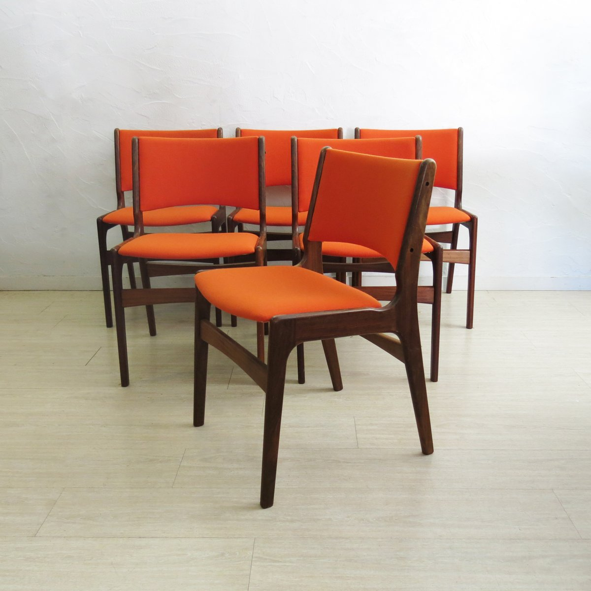 Mid Century Chairs For Sale: Mid-Century Teak Dining Chairs From Anderstrup, 1960s, Set
