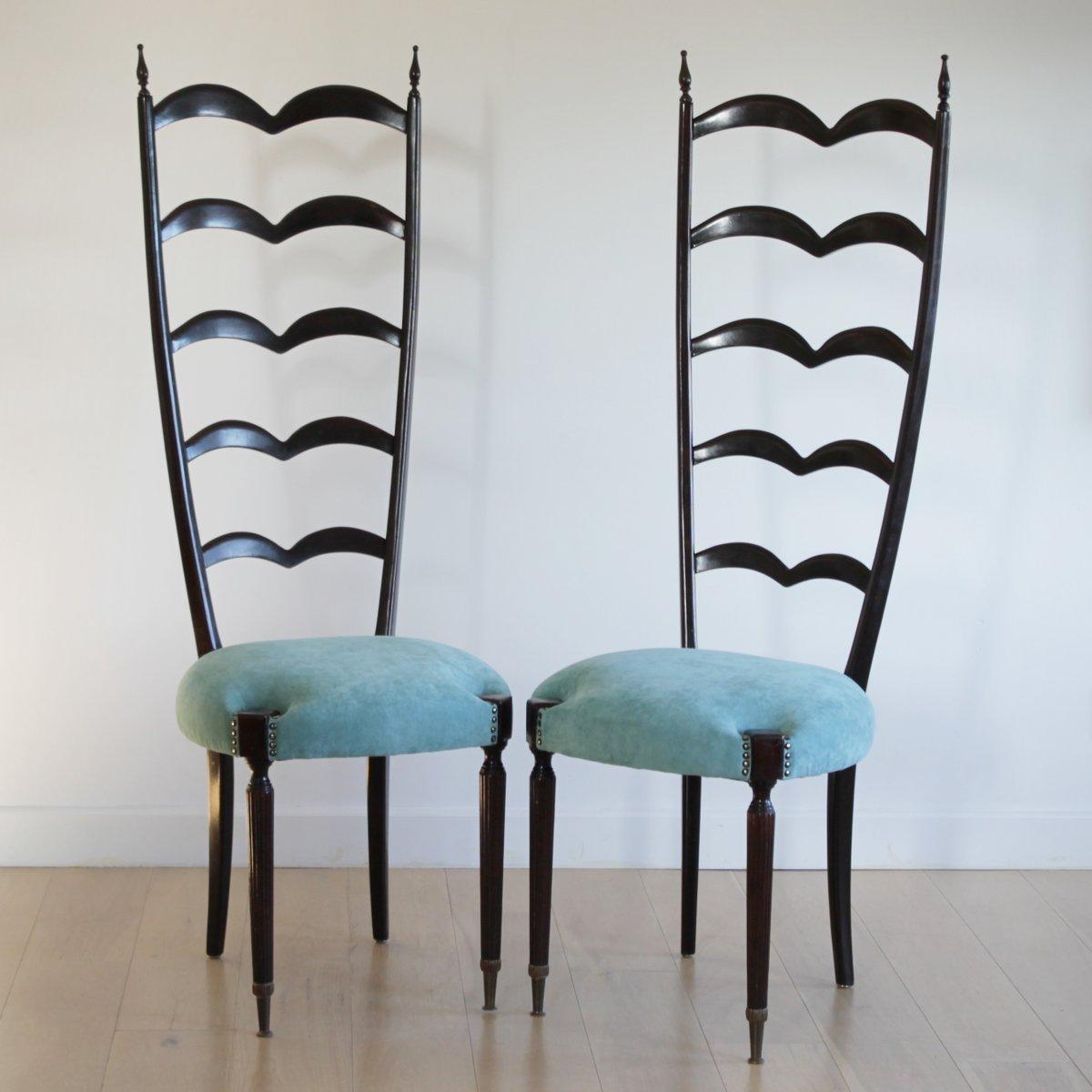 Vintage Sessel mit Latten-Rückenlehne von Paolo Buffa für Marelli & Co...