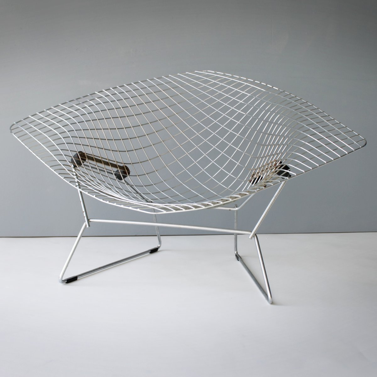 Großer Diamond Chair von Harry Bertoia für Knoll, 1950er